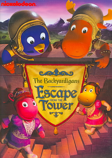 BACKYARDIGANS:ESCAPE FROM THE TOWER BY BACKYARDIGANS (DVD)