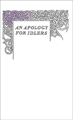 An Apology for Idlers By Stevenson, Robert Louis