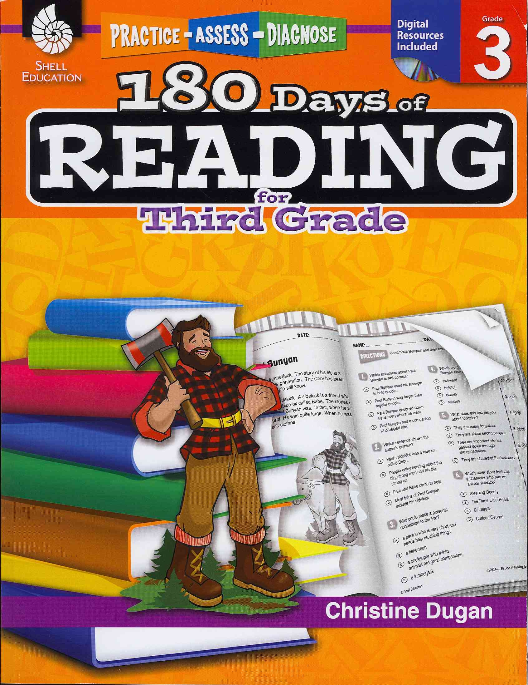 180 Days of Reading for Third Grade By Dugan, Christine